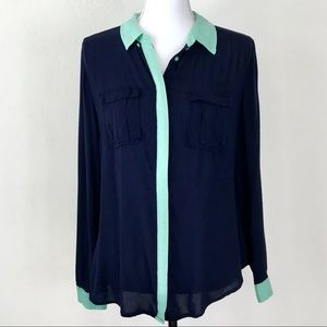 Anthropologie Maeve Button Up 8
